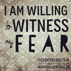 affirmation day 1 @Gabby Bernstein #maycausemiracles #gratitude #gabbybernstein