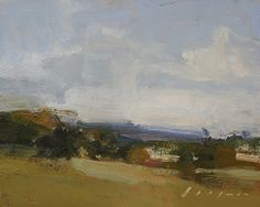 """Foothill Landscape 2 by Simon Addyman Oil ~ 8"""" x 10"""""""