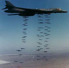 B-1B. Lancer. Dyess AFB, Texas. Abilene. 96th Bombardment Wing. Strategic Air Command.