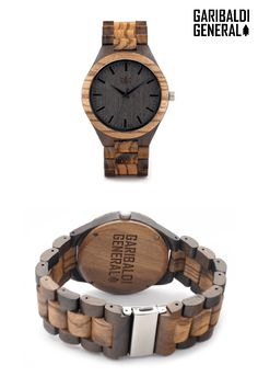 The Sidewinder is for those that like to live life outside the norm. Made from beautiful gradient Zebrawood, it is as unique as you and will showcase your personality at every opportunity. Naturally water-resistant and ready to hit the trails. Add some funk to your style.