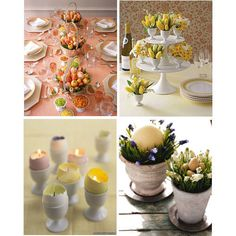 Great DIY Easter Centerpieces