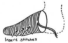 nålbinding sock instructions .. http://www.pinterest.com/pennypeden/nalbinding/