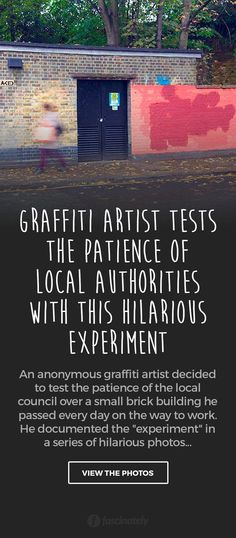 Graffiti Artist Tests the Patience of Local Authorities with this Hilarious Experiment