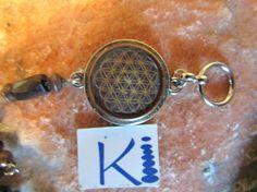 Flower of Life Orgone Bracelet Magnetic Hematite Copper Viking Knit, Copper Rings, Flower Of Life, Clear Quartz, Anklets, Plant Based, Resin, Crystals, Bracelets
