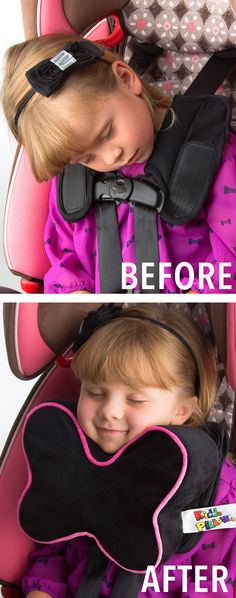 Kid's carseat pillow