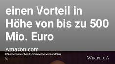 """Aus der Reihe """"Wenn die Realität deutsche Gesetze und Verordnungen überholt"""": """"Problematisch ist für andere Branchen zudem, dass Amazon von der Buchpreisbindung in Deutschland profitiert. Das Unternehmen kann auf Grund seiner Marktmacht günstig einkaufen, reicht aber günstige Preise wegen der Buchpreisbindung nicht an die Konsumenten weiter. Laut Schätzungen dürfte Amazon hierdurch bis Ende 2013 einen Vorteil in Höhe von bis zu 500 Mio. Euro erhalten haben."""""""