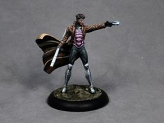 Painting tutorial for Gambit by opponenttheory