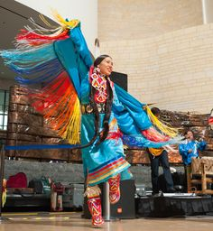 Circle of Dance - October 6 2012 through October 8 2017 - The National Museum of the American Indian in New York Native American Regalia, Native American Dress, Native American Beauty, American Indian Art, American Pride, American Quotes, American Symbols, American History, Fancy Shawl Regalia