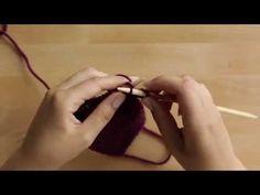Neulomisen alkeet: oikea ja nurja silmukka sekä pudonneen silmukan nosto - YouTube Knitting Stitches, Textiles, Youtube, Sewing, Videos, Knit Patterns, Needlework, Stitching, Knit Stitches