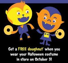 #Free Doughnut at #KrispyKreme
