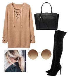 """""""H&H"""" by arohaawilliams on Polyvore featuring Kendall + Kylie, Witchery and Victoria Beckham"""