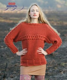 Renee Pullover in Adriafil Globe Uni - Downloadable PDF. Discover more patterns by Adriafil at LoveKnitting. We stock patterns, yarn, needles and books from all of your favourite brands.