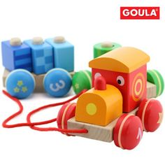>> Click to Buy << top quality wooden pull rope train toy kids wooden toys #Affiliate
