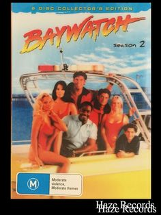 BAYWATCH Season 2. Collector s 6 Disc DVD Set. Holographic Cover. Brand New