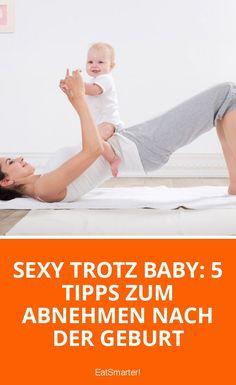Sexy trotz Baby: 5 Tipps zum Abnehmen nach der Geburt | eatsmarter.de