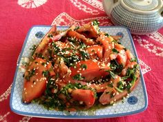 Chinese-Yunnan Food Recipes - Yunnan style tomato salad