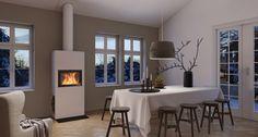 Stockholm høy rettvegg - Nordpeis,norpeis,stålpipe,brannmur,vedovner,peiser,ovn,peisovn,åpen peis,peisovner,ved,fyring,varme,ild,effekt,varmeeffekt,forbrenning,