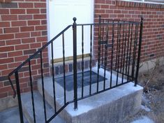 Rod Iron Stair Railing #Stair