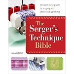 Martin's Books The Serger's Technique Bible. When it comes to achieving professional-quality edging, hemming, seaming and decorative stitching, you cannot beat a serger! A serger allows you to quickly sew, trim and finish seams all in Sewing Class, Sewing Basics, Sewing For Beginners, Sewing Hacks, Sewing Tutorials, Sewing Patterns, Sewing Tips, Sewing Ideas, Sewing Essentials