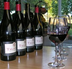 Talisman Wines, Sonoma Valley. Talisman's goal is very simple: the creation of delicious Pinot Noirs that are true to their roots and accurately reflect their places of origin.