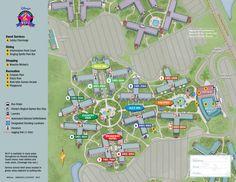 All Star Music Resort Map Walt Disney World