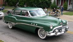 1951 Buick  Maintenance/restoration of old/vintage vehicles: the material for new cogs/casters/gears/pads could be cast polyamide which I (Cast polyamide) can produce. My contact: tatjana.alic@windowslive.com