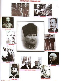 Atatürk'ün  Arkadasları