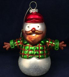 Holiday Gifts, Holiday Decor, Ginger Beard, Snowman, Gay, Christmas Ornaments, Xmas Gifts, Ginger Beef, Christmas Jewelry