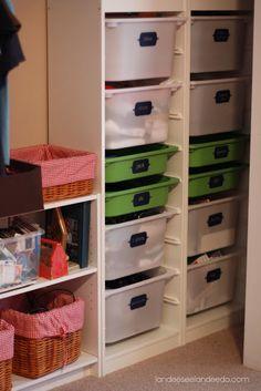 Ikea Trofast DIY Kids Toy Organizing Idea - Do it Yourself Tutorial -  So easy!
