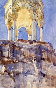 The Athenaeum - Jerusalem (John Singer Sargent - ) 1905-1906