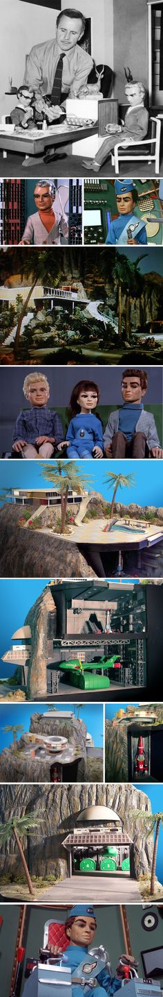 Thunderbirds (1965 /1966) by Gerry and Sylvia Anderson (AP Films)