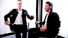 Learned recently you should move at least once every 30 minutes if you're sitting for extended periods. Next meeting, maybe I should bring this little number into the mix at the 30 minute mark. Thank you Michael Fassbender And James McAvoy for the demonstration,