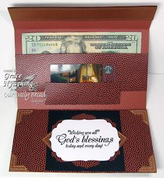 Gift card and money envelope Tutorials