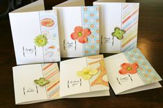 hand made cards | made these cards for porter s teachers last thanksgiving