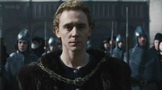 """Tom Hiddleston in """"The Hollow Crown"""" (Prince Hal, Henry V)"""