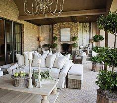 Outdoor living.  http://pinterest.com/myhouseidea/