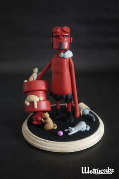 """#Hellboy-inspired """"Kitty Lover"""" by Wetworks"""