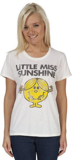 Sugar Little Miss Sunshine T-Shirt by Junk Food