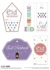 40 Ramadan Moubarak Stickers Ramadan Kareem Décorations Cartes À faire soi-même Cupcakes Picks