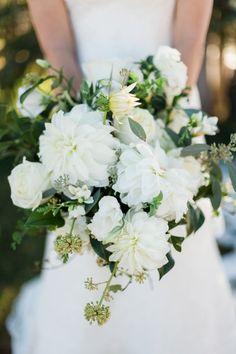 wedding bouquet idea; photo: Rachel Havel Photography