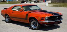 1970 Boss 302 Mustang Fastback in bright Calypso Coral Ford Mustang 1969, Mustang Boss 302, Mustang Fastback, Mustang Cars, Ford Mustangs, Sexy Cars, Hot Cars, Shelby Car, Maserati