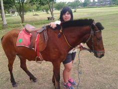 My horse hahaa