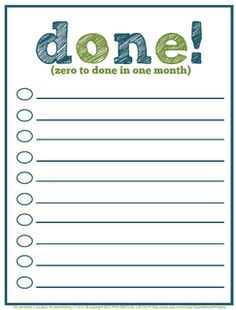 Project Planner - freebie - Clean Mama Printables | clean mama ...