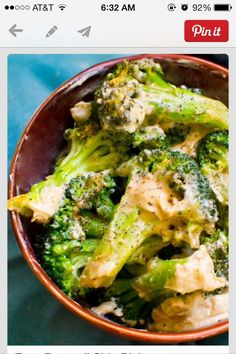 Creamy Garlic Broccoli #Food #Drink #Trusper #Tip