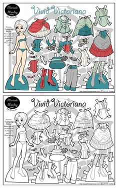 Tons of the coolest free printable  Halloween paper dolls. Great for kid crafts or even decor. These via Paperthin Personas
