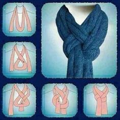 This is legitimately a tutorial on how to tie your scarf so you can look like Sherlock.