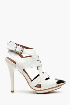 Just copped these new Jeffery Campbell sandals...Summer is definitely peaking its head around the corner