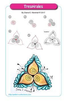 Trespirales by Diana E. Marshall