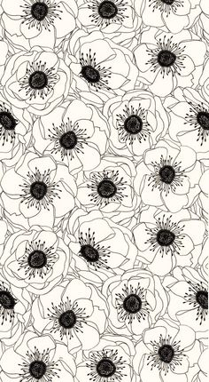 black and white surface pattern