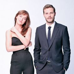 Jamie Dornan & Dakota Johnson - Fifty Shades of Grey Promo